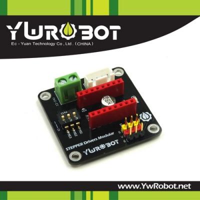 42步进电机驱动电路_(SKU:ELB050411)42步进电机驱动器扩展板 8825/A4988 - YwRobot Studio Wiki